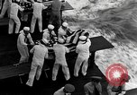 Image of Mass Funeral Ceremony Pacific Ocean, 1945, second 2 stock footage video 65675055313