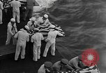 Image of Mass Funeral Ceremony Pacific Ocean, 1945, second 5 stock footage video 65675055313