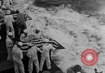 Image of Mass Funeral Ceremony Pacific Ocean, 1945, second 6 stock footage video 65675055313