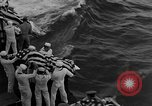 Image of Mass Funeral Ceremony Pacific Ocean, 1945, second 9 stock footage video 65675055313