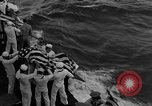Image of Mass Funeral Ceremony Pacific Ocean, 1945, second 10 stock footage video 65675055313