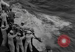 Image of Mass Funeral Ceremony Pacific Ocean, 1945, second 11 stock footage video 65675055313