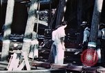 Image of Launch of USS Hancock (CV-19) at Fore River Shipyard, Massachusetts Quincy Massachusetts USA, 1944, second 4 stock footage video 65675055341
