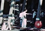 Image of Launch of USS Hancock (CV-19) at Fore River Shipyard, Massachusetts Quincy Massachusetts USA, 1944, second 6 stock footage video 65675055341