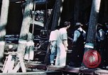 Image of Launch of USS Hancock (CV-19) at Fore River Shipyard, Massachusetts Quincy Massachusetts USA, 1944, second 7 stock footage video 65675055341