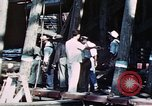 Image of Launch of USS Hancock (CV-19) at Fore River Shipyard, Massachusetts Quincy Massachusetts USA, 1944, second 12 stock footage video 65675055341