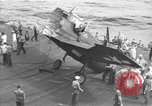 Image of Destroyed TBM Avenger  aircraft Pacific Ocean, 1944, second 11 stock footage video 65675055343