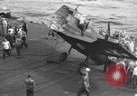 Image of Destroyed TBM Avenger  aircraft Pacific Ocean, 1944, second 12 stock footage video 65675055343