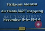 Image of attack on airfields Manila Philippines, 1944, second 7 stock footage video 65675055360