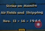 Image of Japanese ship Manila Philippines, 1944, second 1 stock footage video 65675055362