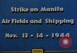Image of Japanese ship Manila Philippines, 1944, second 2 stock footage video 65675055362