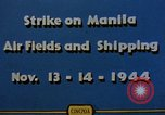 Image of Japanese ship Manila Philippines, 1944, second 4 stock footage video 65675055362