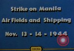 Image of Japanese ship Manila Philippines, 1944, second 5 stock footage video 65675055362