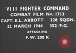Image of Focke Wulf 200 European Theater, 1944, second 1 stock footage video 65675055407
