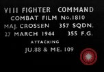 Image of German aircraft European Theater, 1944, second 1 stock footage video 65675055415