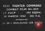 Image of Junker JU-88 European Theater, 1944, second 4 stock footage video 65675055417