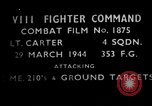 Image of ground targets European Theater, 1944, second 2 stock footage video 65675055423