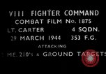 Image of ground targets European Theater, 1944, second 3 stock footage video 65675055423