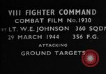 Image of ground targets European Theater, 1944, second 2 stock footage video 65675055428