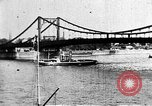 Image of famous landmarks River Rhine Germany, 1937, second 12 stock footage video 65675055446