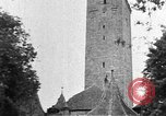 Image of famous buildings Rothenburg on the Tauber Germany, 1937, second 9 stock footage video 65675055449