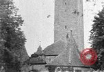 Image of famous buildings Rothenburg on the Tauber Germany, 1937, second 11 stock footage video 65675055449