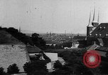 Image of famous buildings Erfurt Thuringia Germany, 1937, second 6 stock footage video 65675055452
