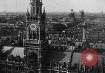 Image of Munich landmarks before World War 2 Munich Germany, 1937, second 12 stock footage video 65675055464