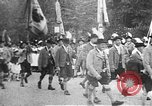 Image of Oktoberfest parade Munich Germany, 1937, second 11 stock footage video 65675055465