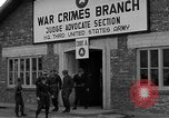 Image of war crime trials Dachau Germany, 1946, second 2 stock footage video 65675055466