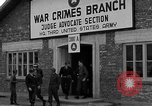 Image of war crime trials Dachau Germany, 1946, second 3 stock footage video 65675055466