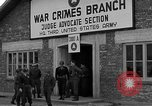Image of war crime trials Dachau Germany, 1946, second 4 stock footage video 65675055466