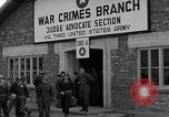 Image of war crime trials Dachau Germany, 1946, second 6 stock footage video 65675055466