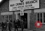 Image of war crime trials Dachau Germany, 1946, second 7 stock footage video 65675055466