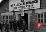 Image of war crime trials Dachau Germany, 1946, second 8 stock footage video 65675055466