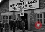 Image of war crime trials Dachau Germany, 1946, second 9 stock footage video 65675055466