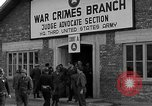 Image of war crime trials Dachau Germany, 1946, second 10 stock footage video 65675055466