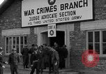 Image of war crime trials Dachau Germany, 1946, second 11 stock footage video 65675055466