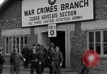 Image of war crime trials Dachau Germany, 1946, second 12 stock footage video 65675055466