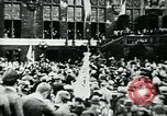 Image of President Paul Von Hindenburg addresses crowd Germany, 1925, second 9 stock footage video 65675055494