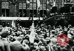 Image of President Paul Von Hindenburg addresses crowd Germany, 1925, second 10 stock footage video 65675055494