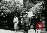 Image of Paul Von Hindenburg on his estate Germany, 1927, second 9 stock footage video 65675055495
