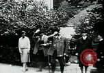 Image of Paul Von Hindenburg on his estate Germany, 1927, second 10 stock footage video 65675055495