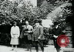 Image of Paul Von Hindenburg on his estate Germany, 1927, second 11 stock footage video 65675055495