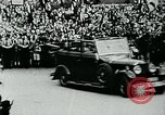 Image of Paul Von Hindenburg with Hitler in open car Berlin Germany, 1933, second 7 stock footage video 65675055498
