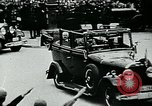 Image of Paul Von Hindenburg with Hitler in open car Berlin Germany, 1933, second 10 stock footage video 65675055498