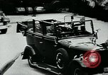 Image of Paul Von Hindenburg with Hitler in open car Berlin Germany, 1933, second 11 stock footage video 65675055498