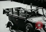 Image of Paul Von Hindenburg with Hitler in open car Berlin Germany, 1933, second 12 stock footage video 65675055498