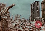 Image of demolished buildings Berlin Germany, 1945, second 3 stock footage video 65675055503