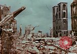 Image of demolished buildings Berlin Germany, 1945, second 7 stock footage video 65675055503